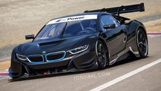 This is a BMW i8 racing car. Ergo, it is brilliant. What it isn't, sadly, is real, being the work of one of our favourite internet doodlers, Jon Sibal.
