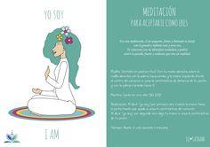 """En esta meditación """"Meditación para aceptarte como eres"""", te conectará con tu identidad verdadera y podrás sentir lo grande, fuerte y radiante que eres en realidad."""