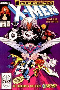 Uncanny X-Men # 242 by Marc Silvestri & Dan Green  Auction your comics on www.comicbazaar.co.uk