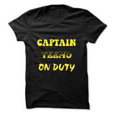 captain teemo on duty lol T Shirt, Hoodie, Sweatshirt