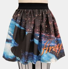 Geek Up Your Wardrobe With Skirts by Ashley Mertz (Hey, That Rhymes!) | Firefly skirt - Oh my. I need one.