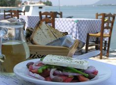 Greek cuisine next to the sea at Xouras Taverna