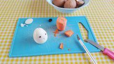 Kidsproof: #DIY Kippetjes gemaakt van ei door @HareMaristeit voor @UitPaulineskeuken #Easter