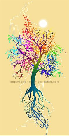 beautiful tree tattoos - Google Search
