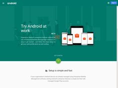 Try Android at work