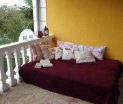 #Ferienhaus Villa Mentha in #Garica auf #Krk: Balkon im Obergeschoss