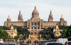 National Museum of Catalan Visual Art located in Barcelona, Catalonia, Spain.