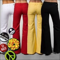 Ditto Jeans in color, an old classic from the late seventies~I loved my dittos...