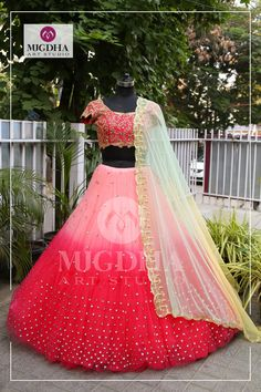 It s time to fall in love with some gorgeous bridal collections from the house of Mugdha Art Studio.To Order :Whats App; 9010906544 11 May 2018 Indian Wedding Gowns, Indian Bridal Outfits, Indian Bridal Fashion, Indian Fashion Dresses, Indian Gowns, Indian Designer Outfits, Bridal Dresses, Designer Dresses, Prom Dresses