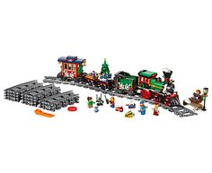 Tren navideño | LEGO Shop