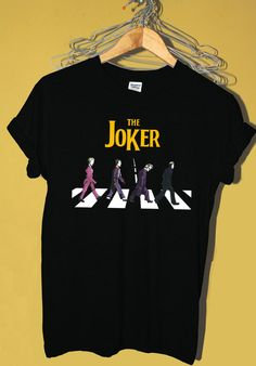 The joker abbey road t shirt, The starters shirt, fashion design tee hipster unisex tshirt tumblr, POPULAR shirt