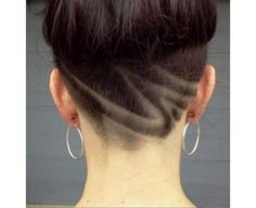 New unigue hairstyle undercut with patters. Come and check out new trends in fashion. Find some hairstyles for yourself!