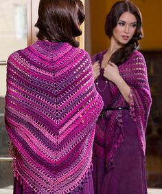 Top Down Shawl By Nazanin S. Fard - Free Crochet Pattern - (ravelry)