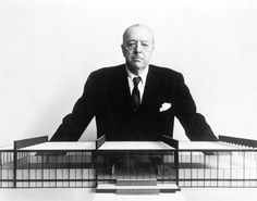 Ludwig Mies van der Rohe is known for making the Barcelona Chair. My favorite furniture designer.
