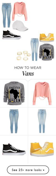 """""""Untitled #48"""" by rileydestinee02 on Polyvore featuring Vans, J Brand and Charlotte Russe"""