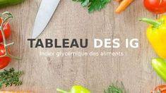 Tableau IG bas : index glycémique des aliments, choisir les IG bas