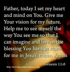 Todays prayer