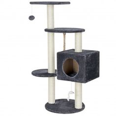 Archie & Oscar The Elvira cat tree is a big highlight for any cat.With it, your cats can sharpen their claws perfectly, ensuring your furniture stays intact. Cat Tree, Canning, Pets, Outdoor Decor, Furniture, Hobby, Jouer, Archie, Claws