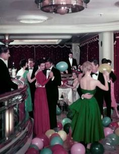 There was dancing... - Courtesy of Cunard
