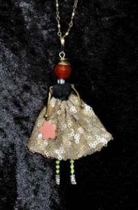 French Doll Necklace
