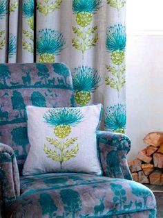 Highland voyage fabrics