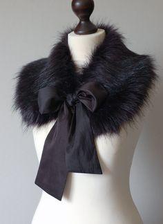 Faux fur collar.  Did it, love it!!