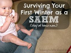 Surviving your first winter as a stay at home mom