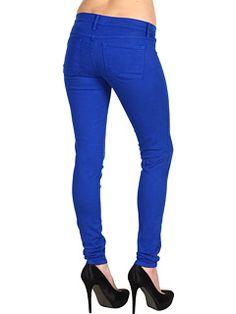 Love this coloured jean from @6pm Gabriella Rocha Kamilia Skinny Jean