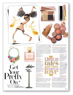"""""""Untitled #829"""" by pinksquid on Polyvore featuring beauty, GALA, Bobbi Brown Cosmetics, Chanel and Kate Spade"""