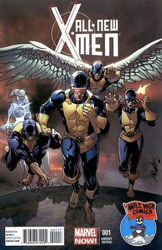 All New X-Men.#1 variant cover