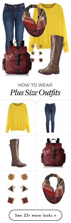 """""""Untitled #554"""" by habibati on Polyvore featuring Avenue, Black Rivet, Kenneth Cole Reaction and Topshop"""
