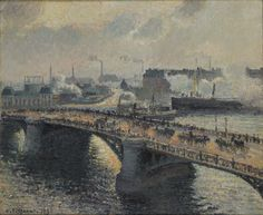 Bridge over murky waters