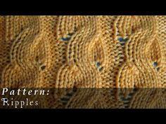 Ripples  |  Knit Pattern  |  Broken Cable