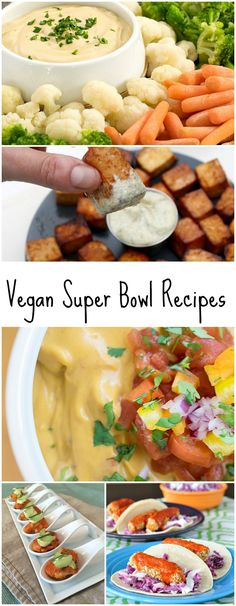 Loving Kathy's amazing list of vegan game day recipes!   via @geekypoet