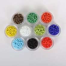 3MM 1000 Pcs DIY/Handmade Round Czech Crystal Glass Spacer Loose Beads Seed Beads For Jewelry making(China (Mainland))