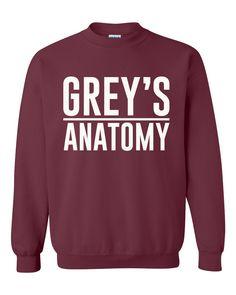 Grey's Anatomy Crewneck Sweatshirt