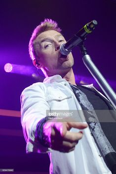 Ronan Keating performs at Sheffield City Hall on September 20, 2016 in Sheffield, England.