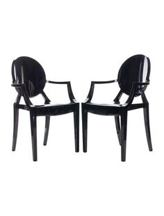 Philippe Starck Louis Ghost Chair Set