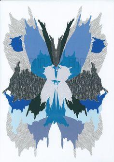 Lona de Anna Ikat Butterfly