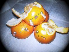 ¡Mandarinas kawaii!