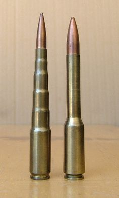 Rare wildcats. On the left is the 10, 9, 8, 7, 6mm Express. On the right is the .30 Giraffe.