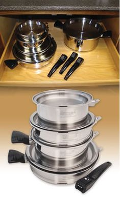 Tight Squeeze, No Problem with Lifetime Cookware    If you are redoing your kitchen Discover Lifetime
