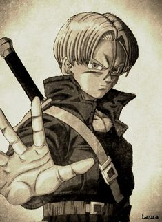 Trunks, first anime crush that started them all. He's still number one for me. Dragon Ball Z, Thundercats, Awesome Anime, Anime Love, Vegeta Y Trunks, Martial, Fanart, Majin, Anime Shows