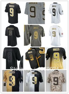 Promotion #9 Drew Brees Jersey,Cheap Drew Brees Jerseys Wholesale,Elite,Game,Limited, All Stitching Sewn On,Free Shipping $29.95