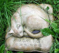Anna Clare Bootle, 31-yr-old cat, buried with her person at Highgate Cemetery north of London © Marsha K. Russell