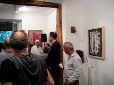 Foto 1 de la primera exposición del proyecto de arte Sheltered Beacon http://shelteredbeacon.wordpress.com/ , proyecto seleccionado para Arte Open Views Madrid 2014 http://arteopenviews.com/