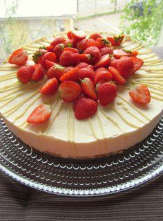 White chocolate lemon cheesecake!