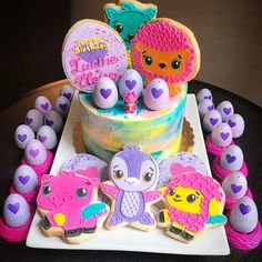 The inspiring Hatchimals Birthday Cake Birthday Parties Birthday Inside Hatchimal Birthday Party digital imagery below, is part of Hatchimal Birthday Party content which is labeled within Birthday Ideas and published at January Birthday Party Images, 10th Birthday Parties, Birthday Fun, Birthday Ideas, Birthday Decorations, Aaliyah Birthday, Animal Birthday Cakes, Party Cakes, Party Party
