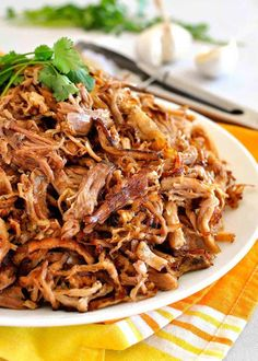 Carnitas (Mexican Slow Cooker Pulled Pork) The best Pork Carnitas recipe, that elusive combination of incredible juicy flavour AND golden crispiness. Make this in the slow cooker (crock pot), pressure cooker, instant pot or oven! Slow Cooking, Cooking Recipes, Cooking Turkey, Cooking Light, Cooking Steak, Cooking Games, Cooking Ribs, Cooking Pasta, Grilling