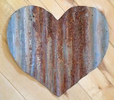 how to cut heart out of corrugated tin - Google Search